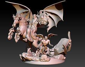 Venger on horse Nightmare 3D printable model