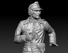 3D printable model miniature German officer