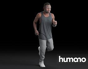 Humano Running Man 0801 3D