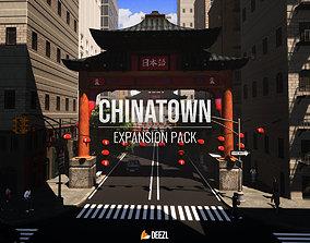 3D asset Chinatown Expansion Pack