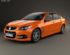 Holden VF Commodore Calais V SSV with HQ interior 3D model