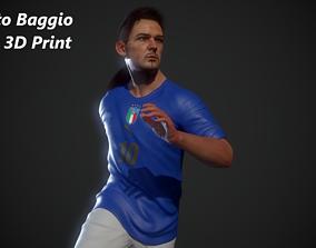 divin Roberto Baggio model 3d print