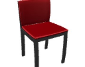 furniture 3D Red chair