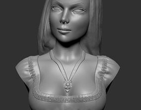 Bust - Lily Munster 3D print model