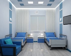3D Double ward in the hospital