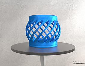 3D print model Modern Vase Globe Spiral