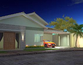 3D printable model External House