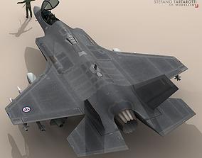 F35A - Royal Norwegian air force 3D model