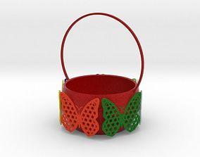 Butterfly basket 3D print model