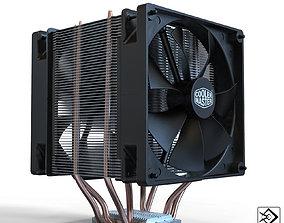 Cpu cooler 3D