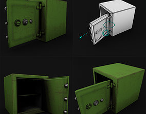 Safe Rigged LowPoly for game 3D model