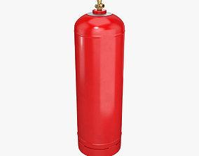 3D model Gas cylinder 50L