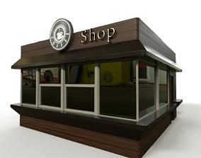 3D model Coffee pavilion