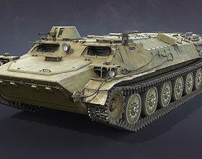 MT-LB Version 2 3D asset