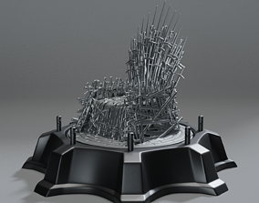 king Game of Thrones - 3D Print Concept