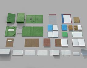 Paper Items 3D model