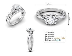3dm file diamond engagement