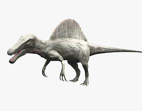 Spinosaurus - rigged 3D model