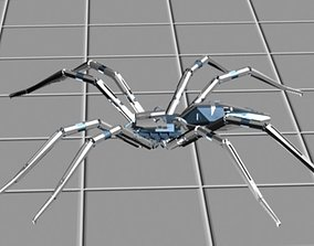 3D metal gear spider
