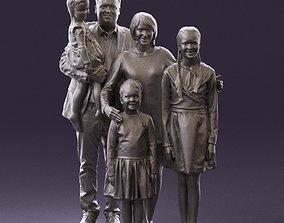 Family man woman girl teen child kid girl 0926 3D Print 1