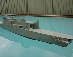 3D print model 72nd scale RAN LPA Manoora and Kanimbla