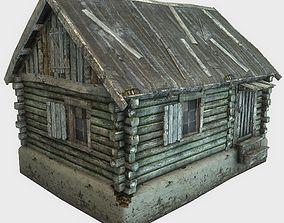 3D model realtime Old Wooden House