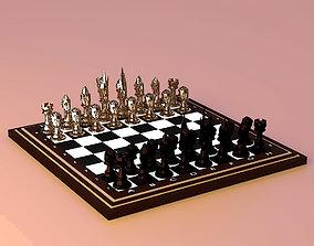 3D print model Chess Set Medieval