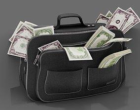 BAG OF MONEY 3D model