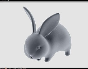 Baby Rabbit - Little Baguette 3D print model