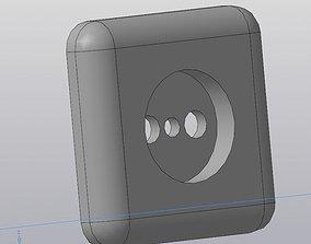 socket housing 3D printable model