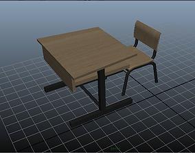 3D model school furniture