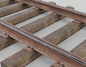 3D asset Railway track
