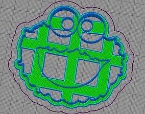 3D printable model Cookie Monster Cookie Cutter