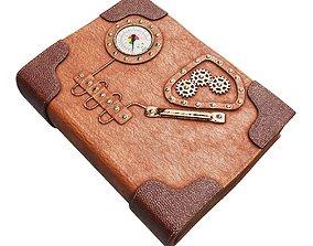 Steampunk Book 3D model