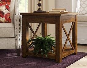 3D Laplant End Table