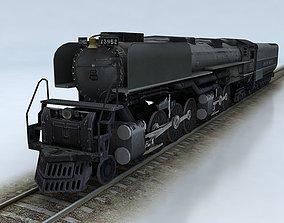 Challenger Union Pacific 3D asset