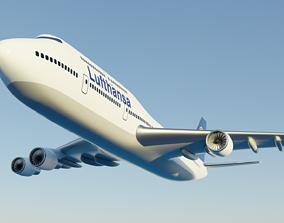 Boeing 747 - 400 3D model