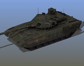 3D asset russia T-14 Tank Russian Army