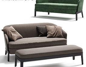 3D model MOLTENI CHELSEA Sofa