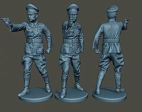 German Officer ww2 Shoot Stand G5 3D printable model