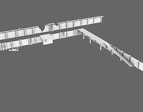 3D asset Trench System Low War