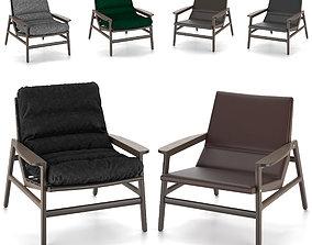 3D arm chair Poliform