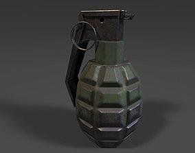 challenge grenade 3D model realtime