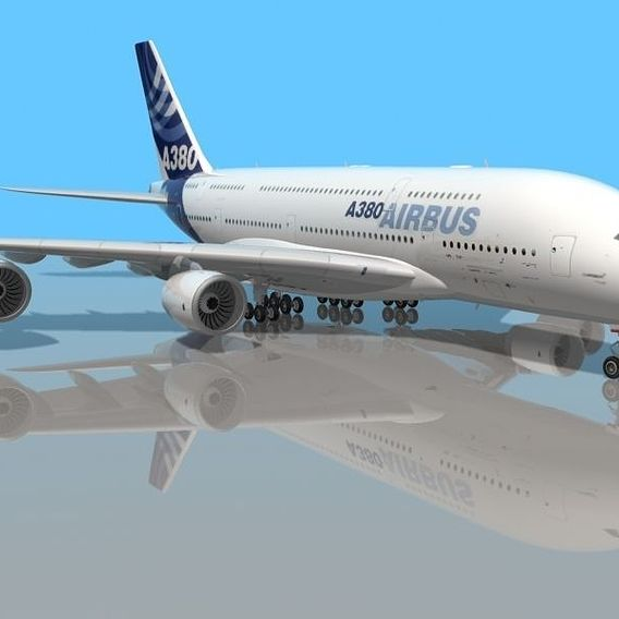Most real AIRBUS A 380