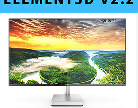 3D E3D - Dell 27 Ultrathin Monitor S2718D model