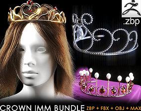 12 crown bundle 3D asset