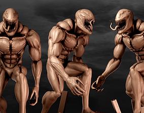 villain 3D print model Venom