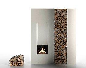 IL Canto Del Fuoco Fireplace 3D model