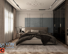 3D model Neo Classic Room Style