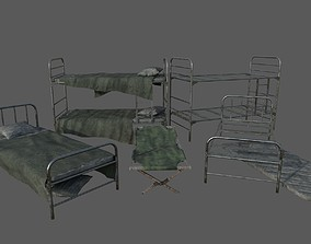 3D model Military Beds Pack
